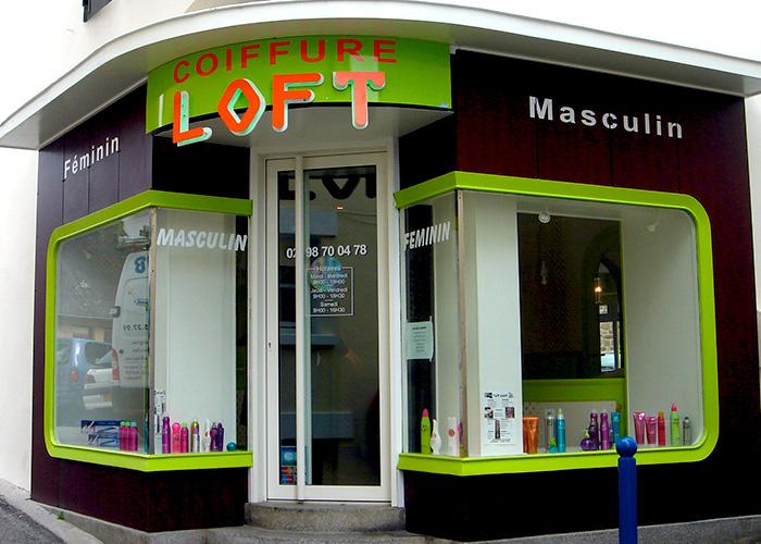 Callipub quimper enseignes et impressions num riques for Salon coiffure quimper